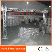 Goalpost for led display stand